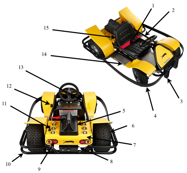 Panther Go-Kart Specification
