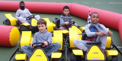 Outdoor Go Kart Party with KartWheelz